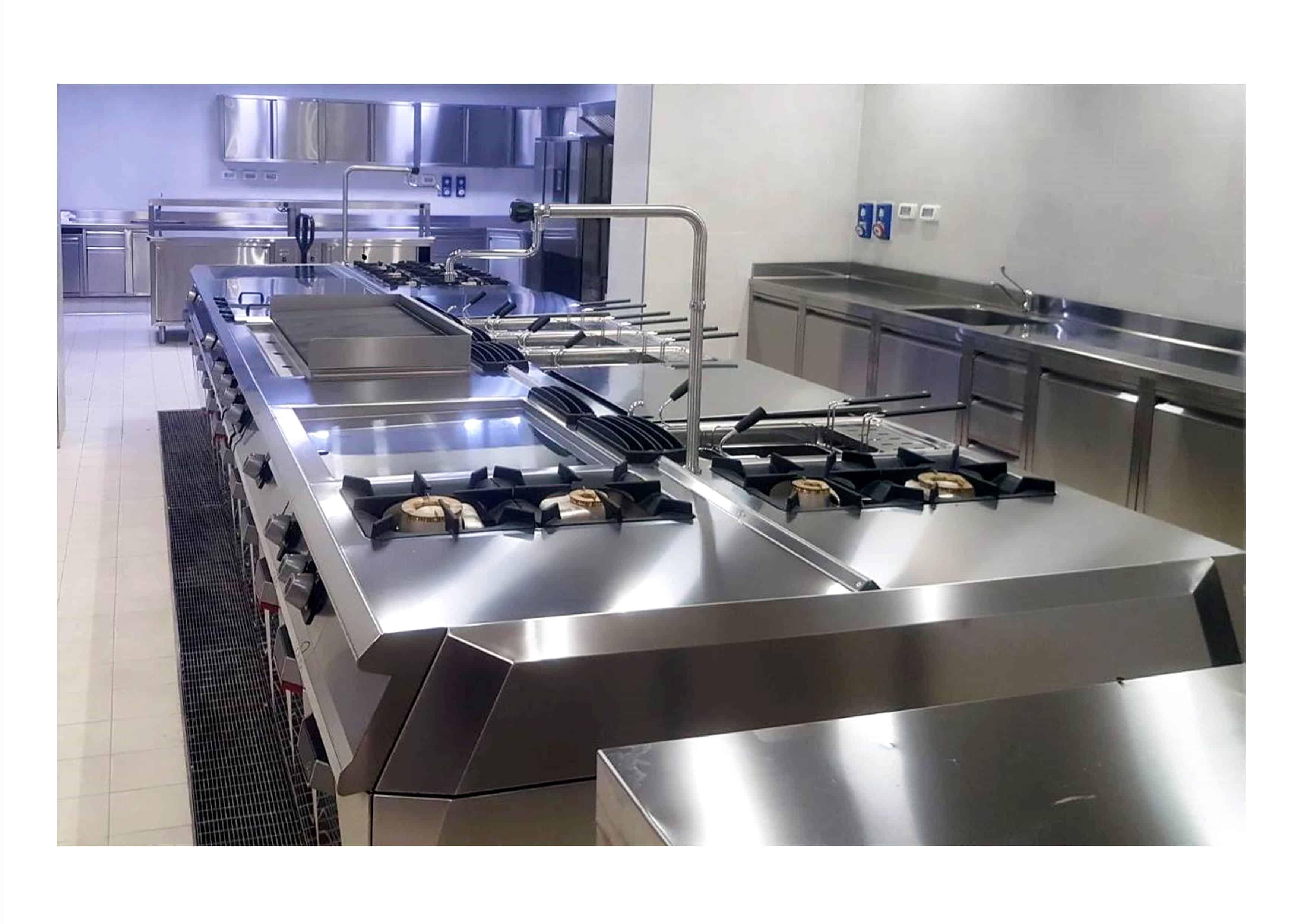 Cucina lampade viola
